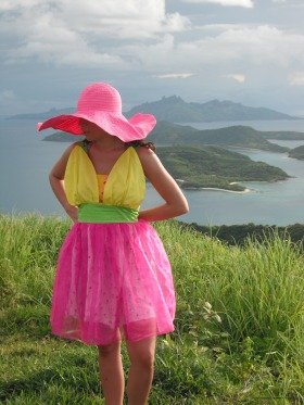 Daffodil Dress. cotton bodice, silk skirt w/ organza overlay.