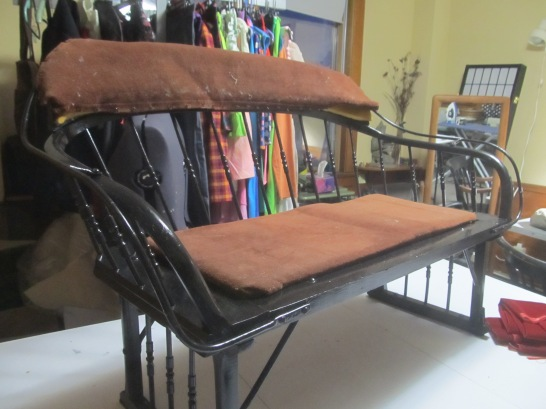 Before, Sleigh Bench.