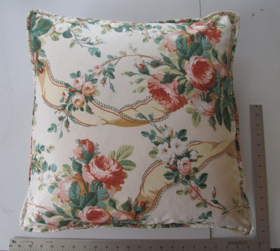 Custom Pillow Fabrication w/ Welt