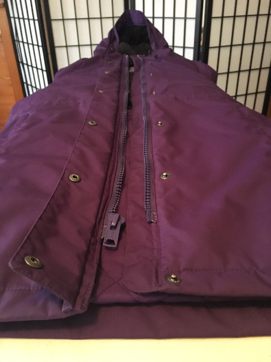 Completed zipper replacement.